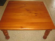Wooden Lamp Coffee Table