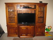 Wooden TV Cabinet and Display