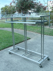 display racks/stands for clothing  -  suit OpShop