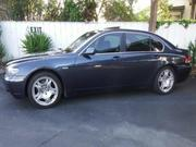 2003 bmw bmw 745li sedan midnight blue