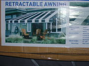 marquee awning still in the box never been used
