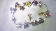 Legend of Elvis charm bracelet