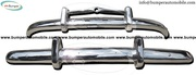 Volvo PV 444 bumper (1947-1958) stainless steel